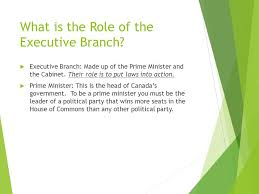 What Is A Government Cabinet Canada U0027s Federal Political System Ppt Online Download