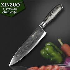 japanese damascus kitchen knives 2015 xinzuo 8 inch chef knives high quality fashion japanese vg10