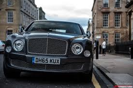 bentley mulsanne blacked out a scottish adventure in the bentley mulsanne gtspirit