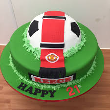 manchester united cake birthday cakes manchester
