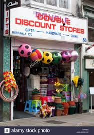 discount stores selling discounted gifts hardware and