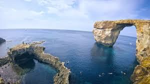 Azure Window Malta The Azure Window Recently Before Collapse Youtube