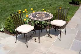 Bistro Patio Table Get The Luxury Of Bistro Patio Set For Your Home Decorifusta