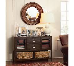 Entryway Table With Baskets Furniture Exciting Wall Mirror And Table L With Small