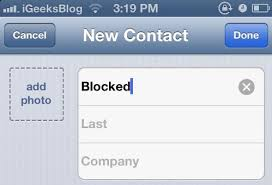 How To Block Be Like - get to know how to block calls in iphone