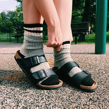 Birkenstock Meme - how to wear birkenstocks in the fall because these ugly