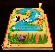 jungle theme cake jungle theme birthday cake gloria cake