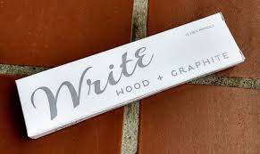 paper mate earth write pencils pencil reviews pencil revolution a word on the box it s matte white and hand made using a process i only partly understand i m not sure if i am allowed to talk about that which i