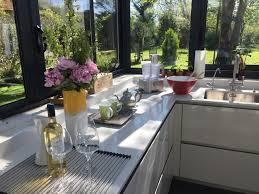 cuisine dans veranda cuisine sous véranda dans un cadre exceptionnel