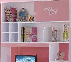 Princess Bookcase Pink Mdf Teenage Princess Kids Bedroom Furniture Set With 3