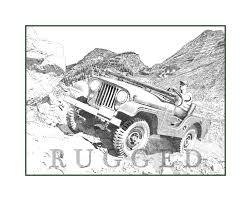 jeep drawing joy ridez