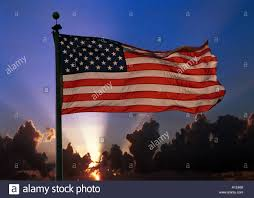Our Flag By The Dawns Early Light Our Flag Was Still There Stock Photo