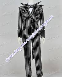 Jack Skellington Costume The Nightmare Before Christmas Cosplay Jack Skellington Costume