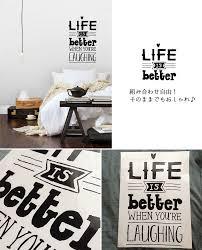 kabegamikakumei rakuten global market happy words2 wall sticker happy words2 wall sticker wall deco sir mart on japan made cute cool interior art art