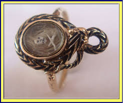 antique skull rings images Classifieds antiques antique and vintage jewelry jpg