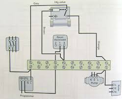 wiring diagram heating only two port motorised valve heating