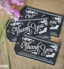 free wedding gifts free printable chalkboard thank you tags you can personalize it