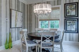 Dining Room Drum Chandelier Cool Drum Chandelier In Dining Room Transitional With Chandelier