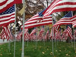 Flag Of Massachusetts Field Of Flags Honors Berkshire Veterans Wamc