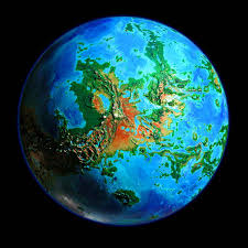 Map Of The World 1 Million Years Ago by World Dream Bank Futures Venus Unveiled