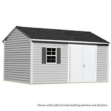 maintenance free sheds with vinyl siding sentry
