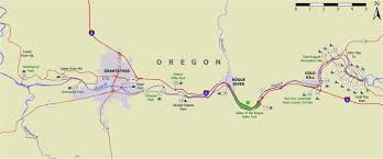 map of oregon gold mines rogue river access map