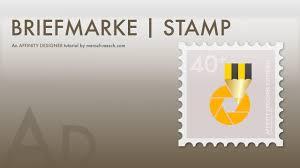 15 affinity designer briefmarke deutsch stamp german