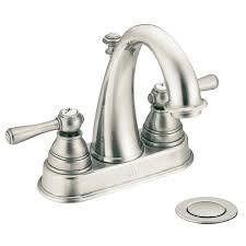 Oil Rubbed Bronze Bathroom Accessory Sets by Kingsley Antique Nickel 2 Handle 4 In Centerset Watersense