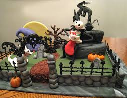 nightmare before cake a creative touch