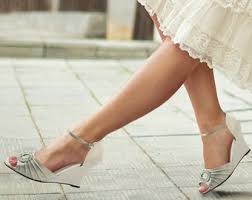 wedding wedges shoes wedge shoes etsy
