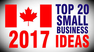 top 20 best small business ideas in canada 2017