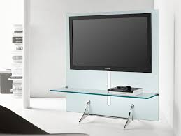 Tv Wall Furniture Nella Vetrina Tonelli Curtain Wall Tv Modern Italian Glass Table