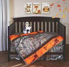 Camo Crib Bedding Set Realtree Nursery Bedding Sets Ebay