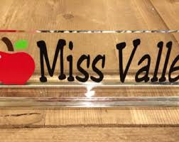 Desk Name Plates Wood Nice Teacher Desk Name Plate Professional Wood Sign Personalized