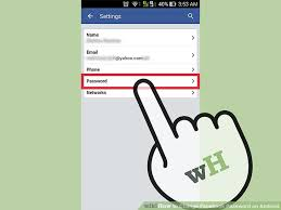 change password on android phone 4 ways to change password on android wikihow