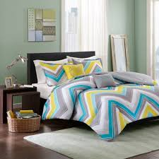 teal yellow and grey bedding teal gray and yellow bedroom peach