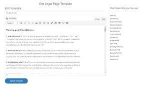 legal pages u2014 wordpress plugins