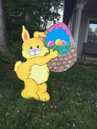 Cheap Easter Outdoor Decorations by Bunny Garden Decor U2013 Home Design And Decorating