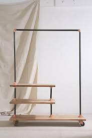 Clothes Storage Solutions by 4040 Locust Industrial Storage Rack Urban Outfitters Decorate
