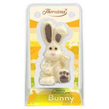 white chocolate bunny thorntons harry hopalot white chocolate bunny wise choice