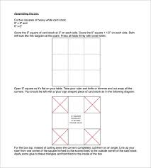 exploding box template u2013 20 free psd pdf format download free