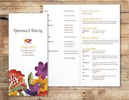 wedding booklets wedding mass booklets ivory weddings
