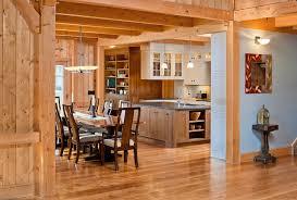 Hardwood Floor Kitchen by Natural White Oak Kitchen Wood Flooring Traditional Kitchen