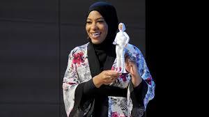 barbie doll hijab wearing olympian ibtihaj muhammad
