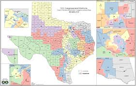 Map Of The State Of Texas Political Participation How Do We Choose Our Representatives
