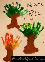 preschool fall projects for your toddler on a green mission