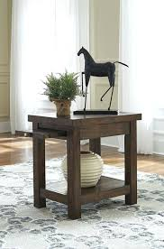 power chairside end table ashley t127 565 power chairside end table 553 dark brown finish 551