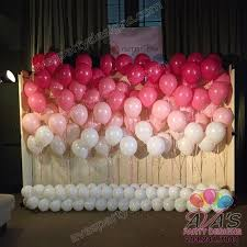 Pink Balloon Decoration Ideas 26 Best Balloon Wall Images On Pinterest Balloon Ideas Balloon