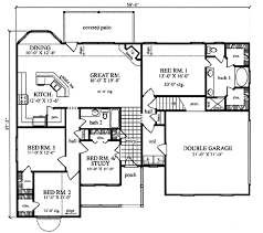 plan42 farmhouse style house plan 4 beds 2 baths 1845 sq ft plan 42