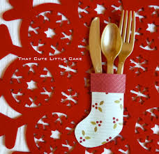 christmas stocking utensil holder diy catch my party